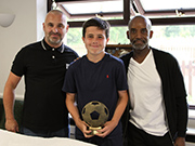 James: Parents' Player of the Year 2020-21